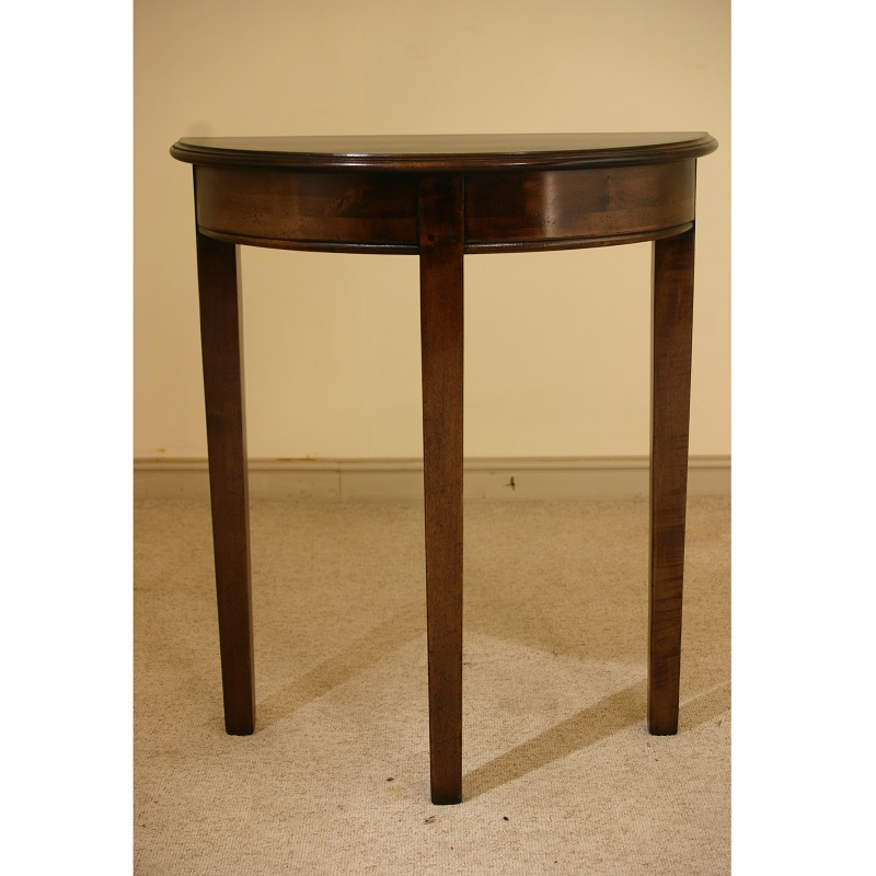 Half Round Side Table 3 Leg Reeve Co Half Round Side Table 3 Leg