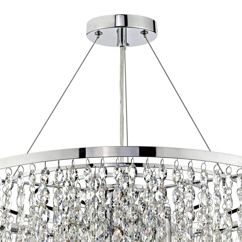 Victoria 5 Light Pendant Crystal